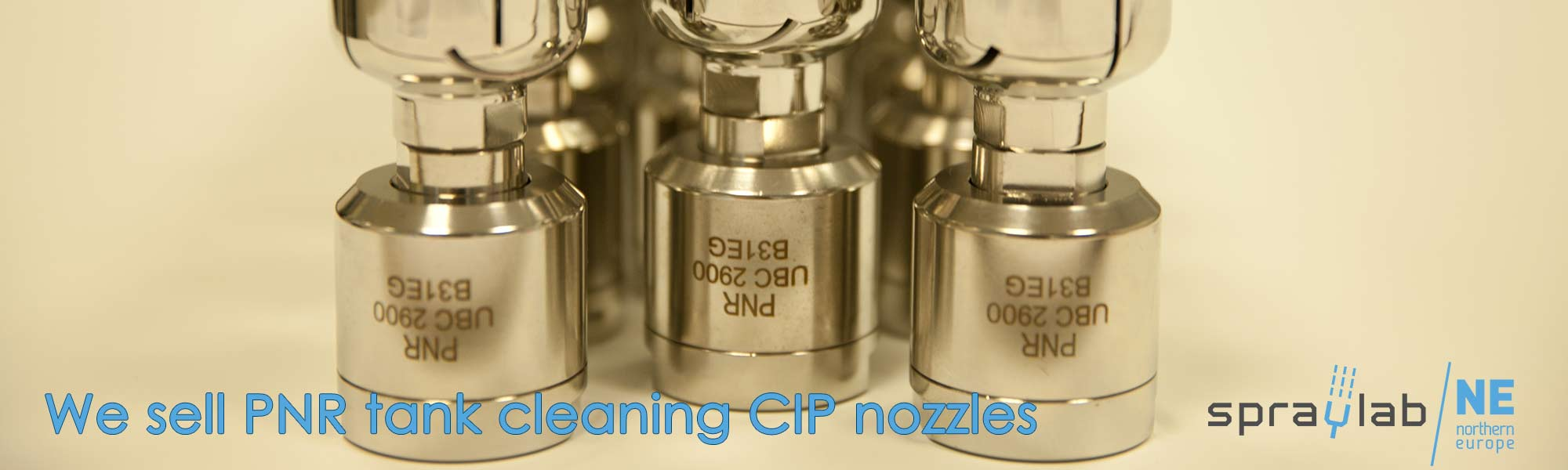 We sell PNR tank cleaning CIP nozzles